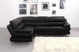 small black leather corner sofa catosfera net