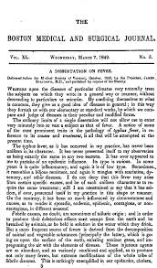 a dissertation on fever delivered before the medical society of   first page