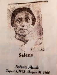 Selena Mack (Kindle) (1884 - 1960) - Genealogy