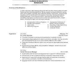 Veteran Resume Examples Veteran Resume Sample Military Example Department Manager