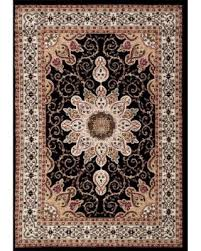 Persian rugs Geometric Persian Rugs Oriental Traditional Multi Colored Black Background Area Rug 52 Better Homes And Gardens Amazing Deals On Persian Rugs Oriental Traditional Multi Colored