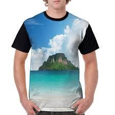 Amazon Com Mans T Shirts Poda Island In Thailand South