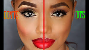 makeup do s and don ts makeup mistakes to avoid ellarie