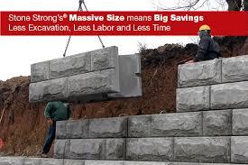 retaining wall systems lhv precastlhv