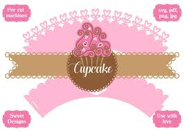 I have two different free svg files for cricut about love you can download below. Cupcake Wrapper Graphic By Jgalluccio Creative Fabrica Criatividade