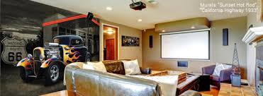 Man Cave Wall Murals by Magic Murals