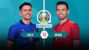 يلا شوت مشاهدة مباراة إسبانيا وإيطاليا اليوم بث مباشر في نصف النهائي يورو  2021