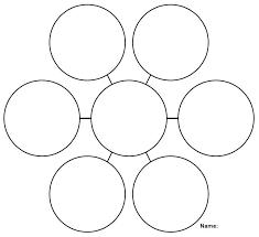Printable Web Graphic Organizer W O R K Graphic