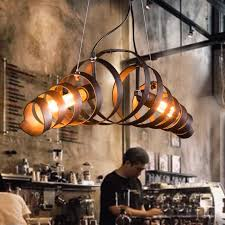 industrial style home lighting. loft retro vintage pendant lights industrial wrought iron lamps bar cafe restaurant suspension luminaire home style lighting m