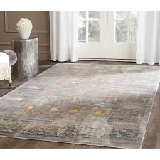 picturesque design 8 x 12 area rugs com safavieh valencia collection val108c grey and multi 8x12 clearance at menards under 100