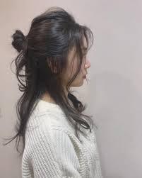 ロングヘアのお団子アレンジ10選簡単なやり方や髪の多い人のコツも Cuty