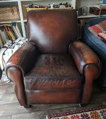 scratches on a leather chair or sofa