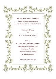 Wedding Invitations Templates Microsoft Word Wedding Invitation Renaissance Design Microsoft Office Template