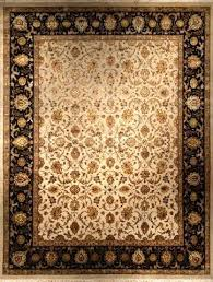 black rug 8x10 picture of antique finish ivory jet black black and white area rug 8x10