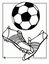 Soccer Ball Coloring Pages Coloring Home