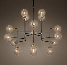 outstanding clear glass globe chandelier glass ceiling lights new ironwood square chandelier