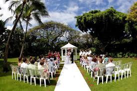 View Of Wedding At Hale Koa Hotel In Hawaii Hawaii Wedding