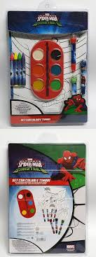 From fanfreegames, spiderman coloring is a new game of painting that we have found for you to play for free. Ultimate Spider Man Vs The Sinister 6 Coloring Pages And Paint Set Ebay