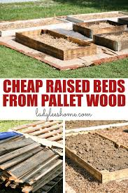 how to make raised beds ly from