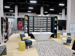 Trade show booth or elegant bath?