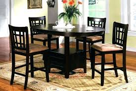 dining room table with leaf. Round Counter Height Dining Table Bar Kitchen Excellent Sets Furniture Room With Leaf F