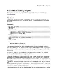 Case Study Template 49 Free Case Study Templates Case Study Format Examples
