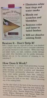 Howard Original Restor A Finish 1 Pt Wood Furniture Restorer