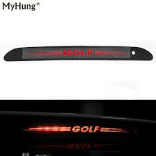 Car Brake Light Stickers Us 4 41 12 Off For Volkswagen Vw Golf 6 Mk6 Golf 7 Hollow Car Brake Light Sticker Decoration Cover Carbon Fiber Case Car Styling In Car Stickers
