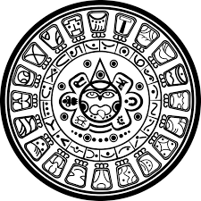 Mayan Calendar Coloring Pages Coloring Pages