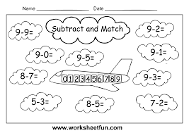 Free Coloring Pages Of Subtraction Worksheet Printable Worksheets