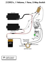 jackson wiring diagram guitar jackson image wiring emg select wiring diagram wiring diagram schematics baudetails on jackson wiring diagram guitar