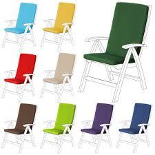 highback garden dining chair cushion