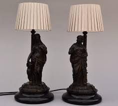 large size of lamp pair of late century bronze table lamps in the form classical grecian