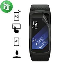 samsung fit 2. vmax crystal clear screen protector for samsung gear fit 2
