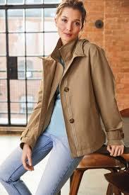 Buy <b>Camel</b> Showerproof <b>Rain</b> Jacket from the Next UK online shop