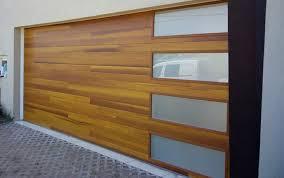 garage door images. Plank Style Overhead Door In Cedar Finish Garage Images