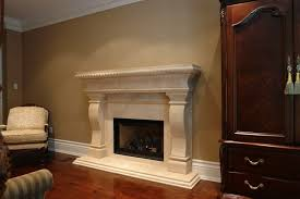 image of complete gas fireplace with mantel