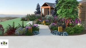 3d garden design. Look Onward As Your Eye Is Lead Thru The Path While Being Surrounded By Landscape 3d Garden Design