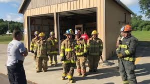 Teens from across New York become Junior Firefighters for the day to ...