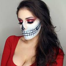 skeleton makeup idea