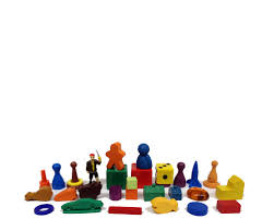 Wooden Game Pieces Bulk Game Parts 4