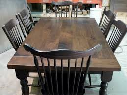 distressed black dining room table. Distressed Black Dining Table Room T