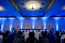 milwaukee wedding trend uplighting blue harbor blue wedding uplighting