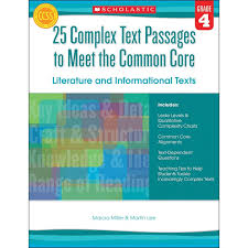 Common Core Lexile Levels By Grade Chart 25 Complex Text Passages To Meet The Common Core Grade 4