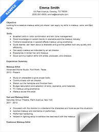 Art Resume Template Extraordinary Makeup Artist Resume Sample Sample Resume Ideas Art Resume Template