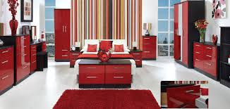 red room with black furniture. red bedroom black furniture photo 2 room with l