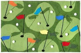 golf grass area rug inches x main rugs natural