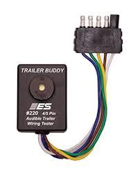 amazon com esi 220 4 5 pin flat trailer wiring buddy automotive Flat 5 Wire Trailer Harness esi 220 4 5 pin flat trailer wiring buddy 4 way flat 5 wire trailer harness diagram