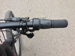 eflow electric bike throttle and sram shifter