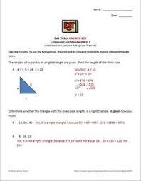 Pythagorean Theorem Worksheet - Mixed Questions | Pythagorean ...
